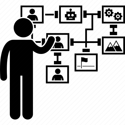 Computer, concept, cyber, futuristic, innovation