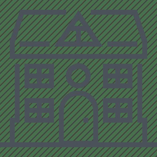 Home, house, real estate, windows icon