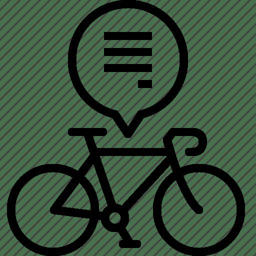 Bicycle, buy, info, life, manual, road, yumminky icon