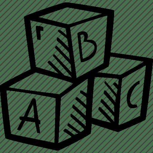 Blocks, education, kids, learning, letter, preschool