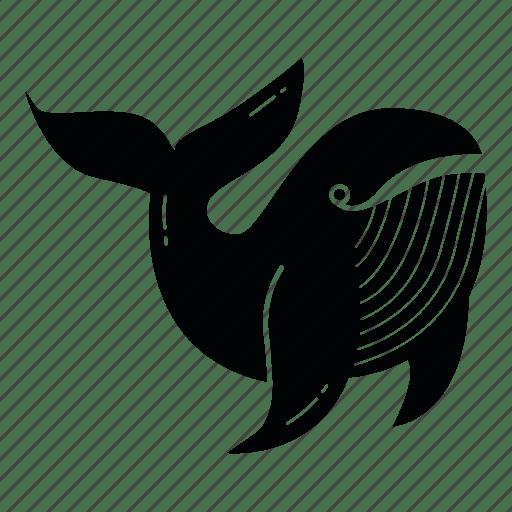 Animal fish ocean sea sea creature sea food whale icon