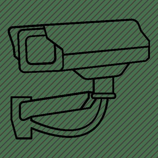 Camera, cctv, safety, security, surveillance icon
