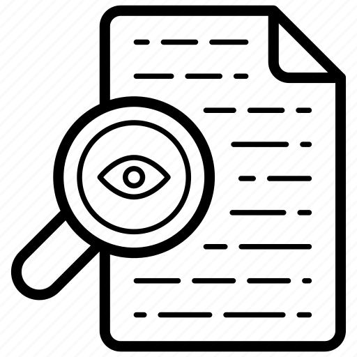 Document audit, document checking, file auditing, file