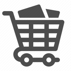 shopping icon cart groceries buying icons data 512px