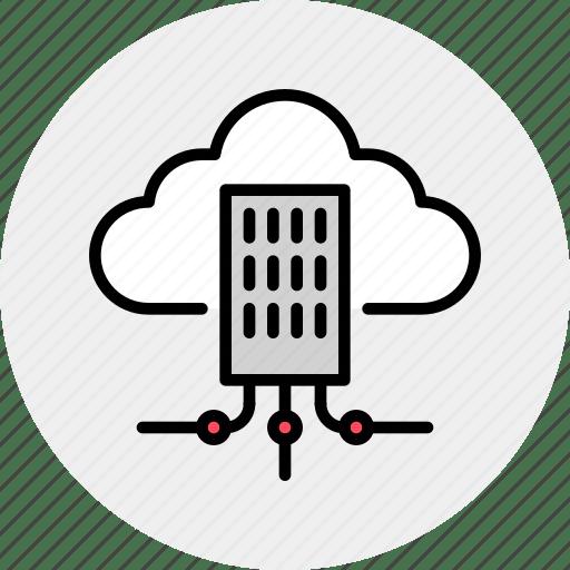 Building, city, cloud, hub, infrastructure, network