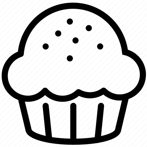 Blueberry Muffin B And W Clip Art At Clker Com