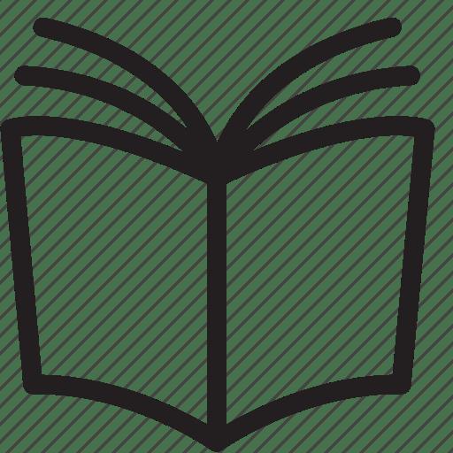 Book, manual, read, reading icon