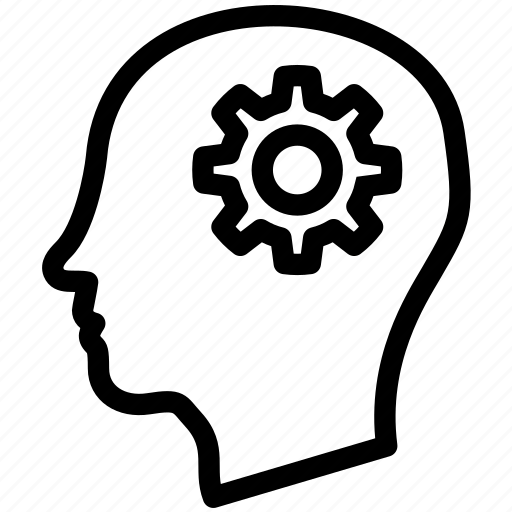 Brain, knowledge, learn, learning, mind, study, think icon