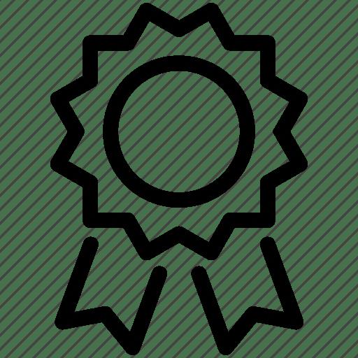 Achievement, award, badge, reward, trophy, win, winner icon