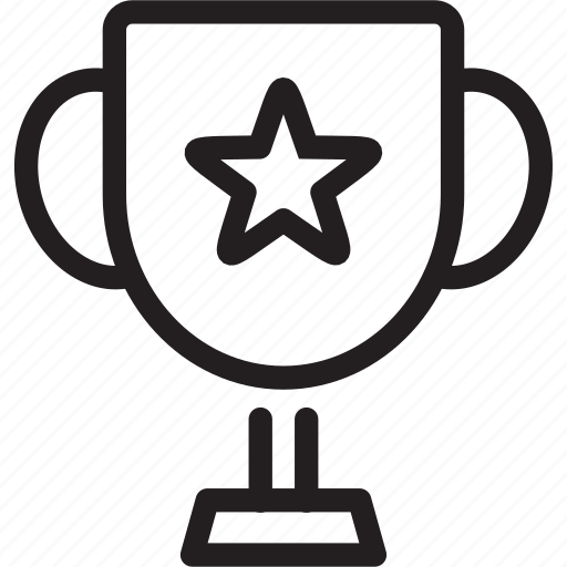 Achievement, award, cup, favorite, reward, trophy, winner icon