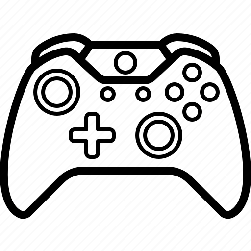 Xbox 360 Controller Cartoon