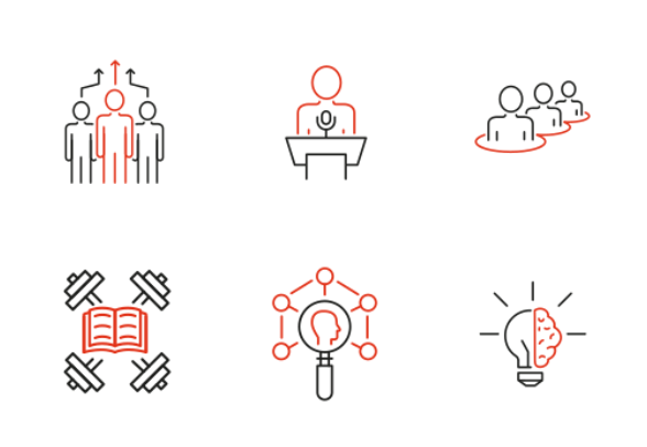 Human Resources Management icons by Maksim Evseev