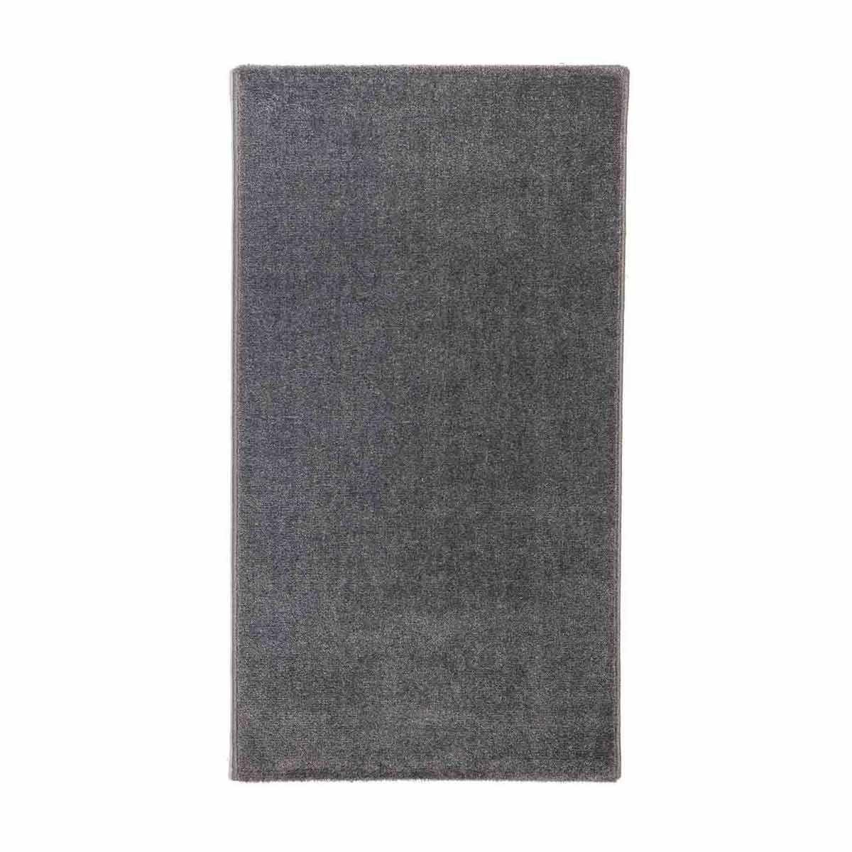 tapis poils ras gris anthracite tasman