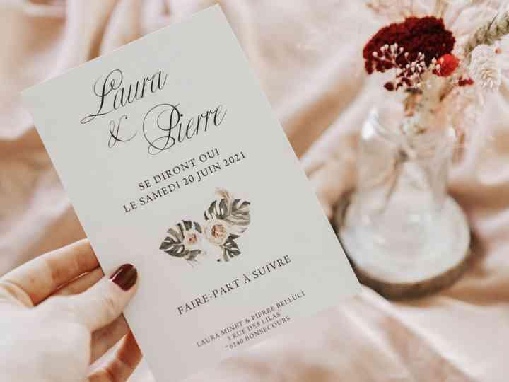 les invitations de mariage idees mariage