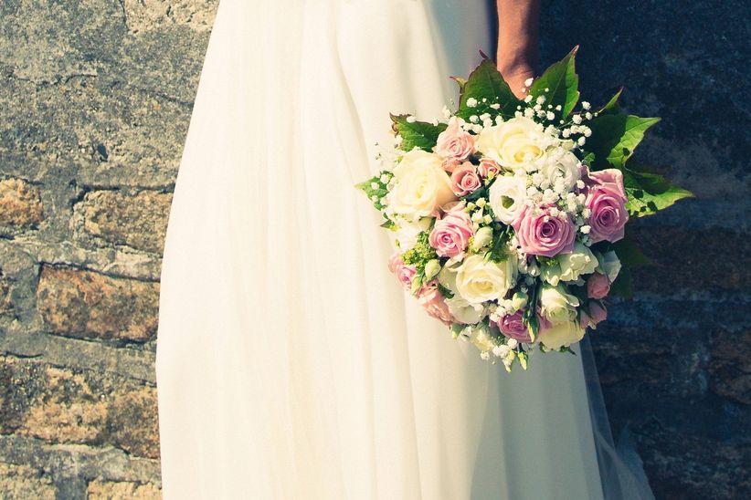 10 bouquets trs romantiques pour votre look de marie