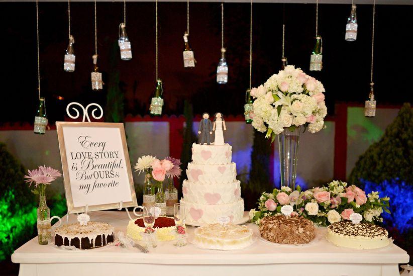 30 decoraciones para la mesa del pastel