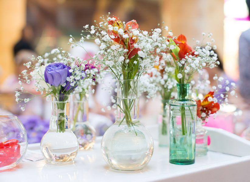 Ideas para decorar el matrimonio con frascos de vidrio