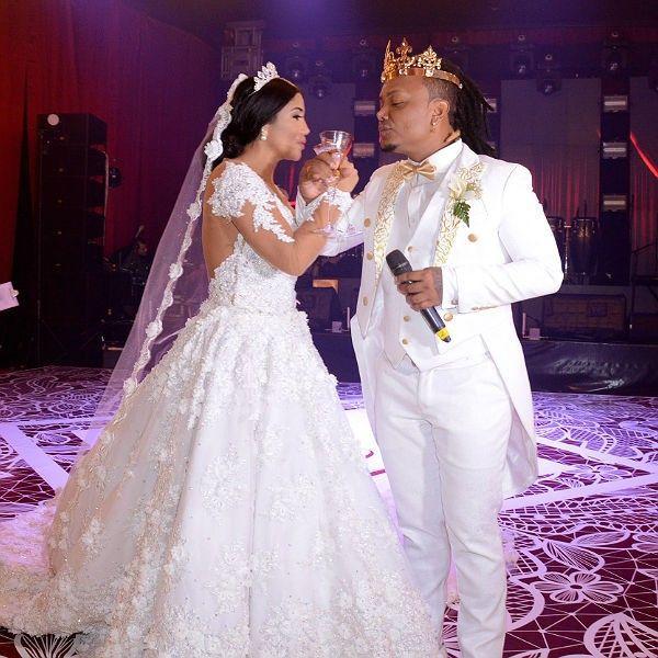 boda de Mr black y Yuranis Len