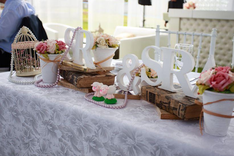 8 ideas para decorar la mesa de los novios