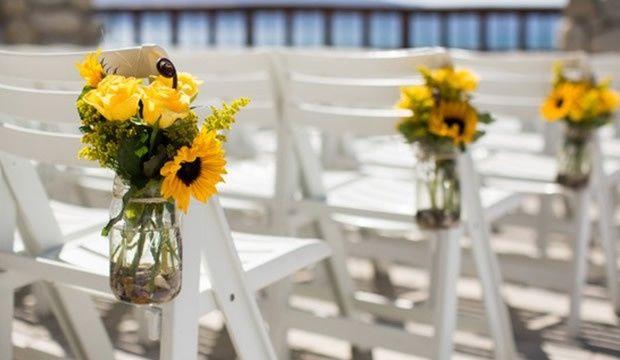 Ideas de boda con girasoles
