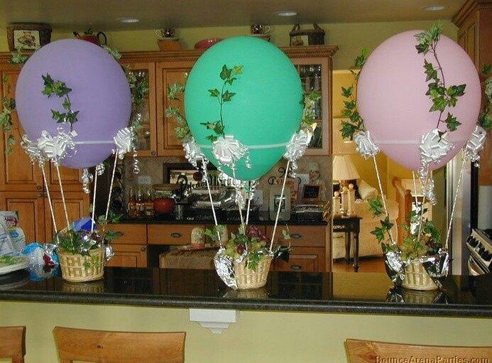 Detalles en globos aerostticos