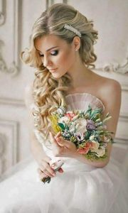 peinados novias cabello