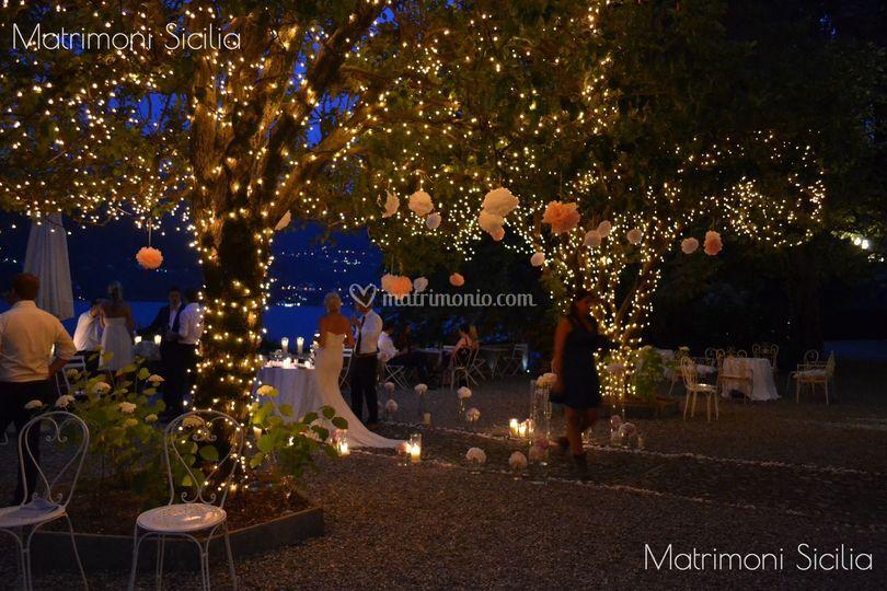Allestimenti luci di Matrimoni Sicilia  Foto 1