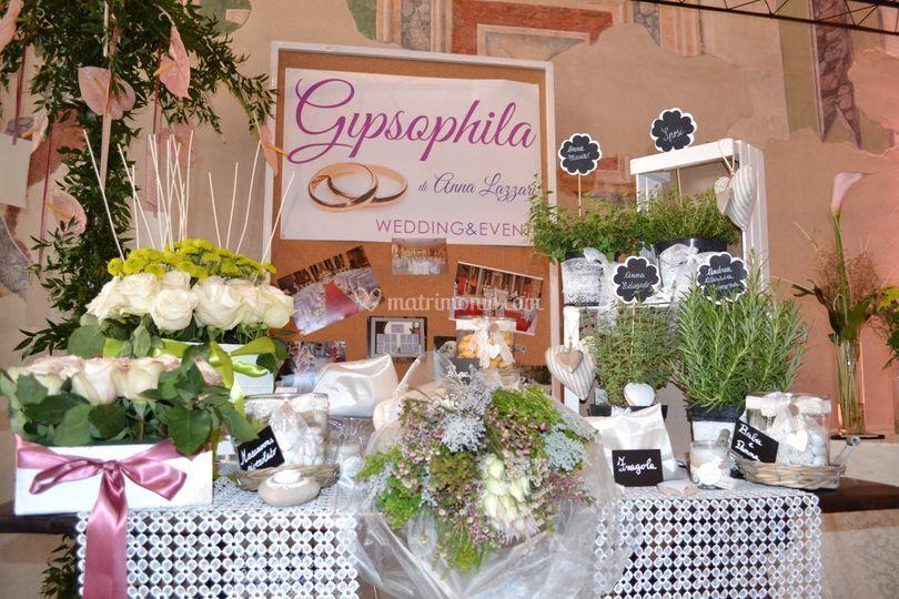 Gypsophila flowers designer