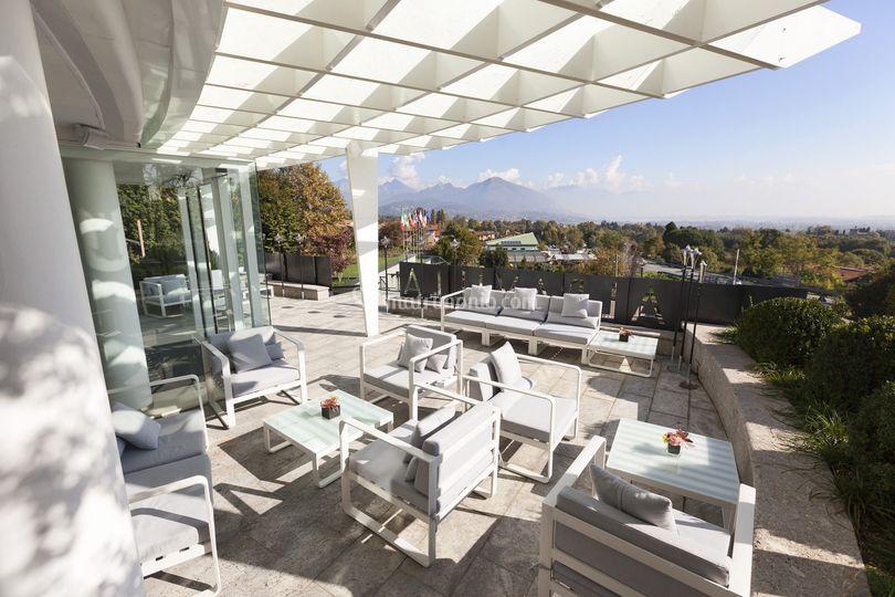 Terrazza di Hotel Albavilla  Foto 2