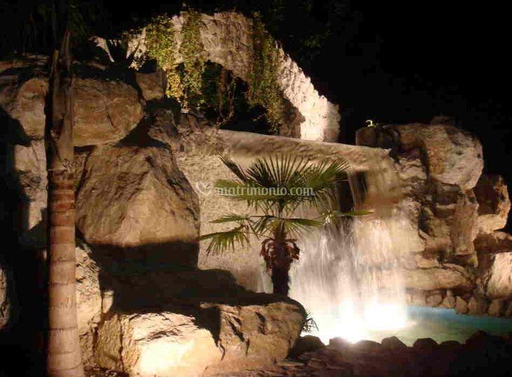 Buffet in piscina di Villa Holiday  Fotos