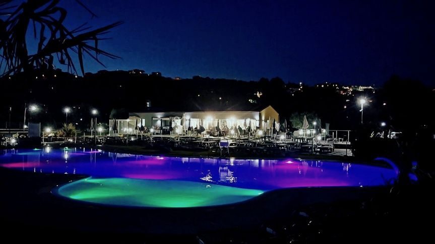 Area piscina di ReBi village  Fotos