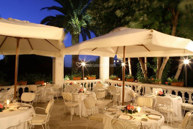 Ristorante Terrazza di Grand Hotel Cocumella  Foto 9