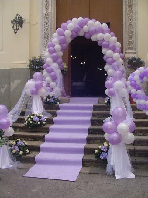 Decorazioni matrimonio fiabesco  palloncini  Organizzazione matrimonio  Forum Matrimoniocom