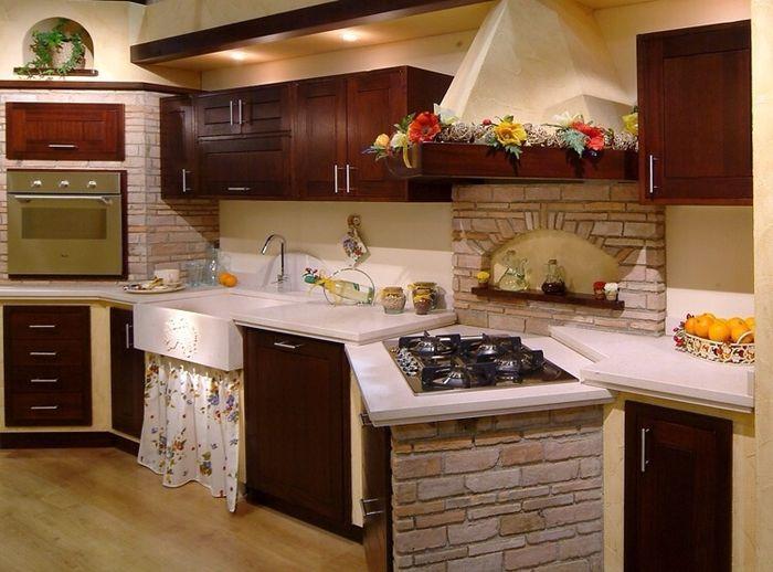 Cucina finta muratura  Vivere insieme  Forum Matrimoniocom