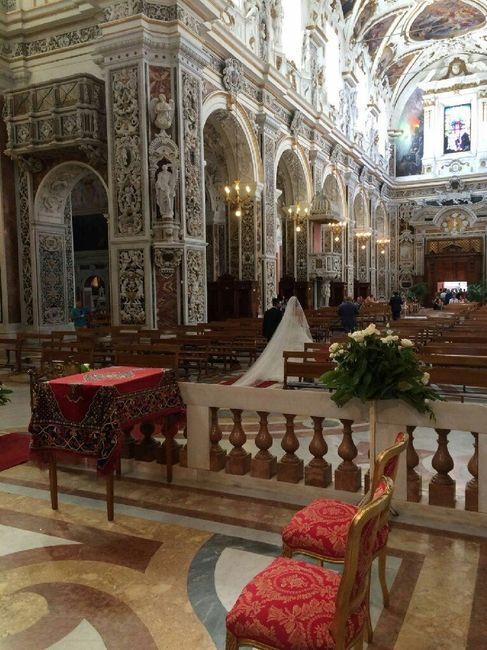 Chiesa casa professa spose 2018  palermo  Sicilia  Forum Matrimoniocom