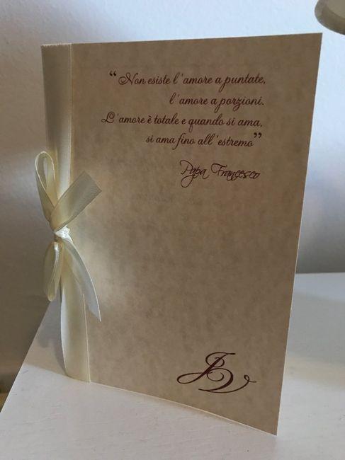 Libretti messa pronti  Organizzazione matrimonio