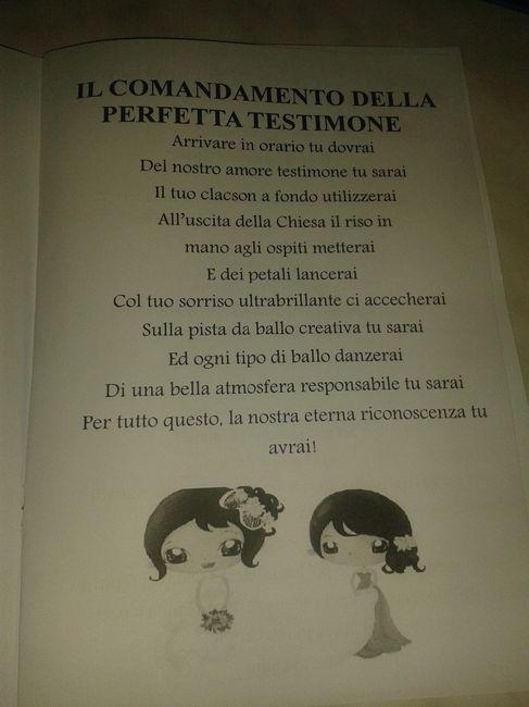 Manuale perfetta testimone  letterapenna  Fai da te