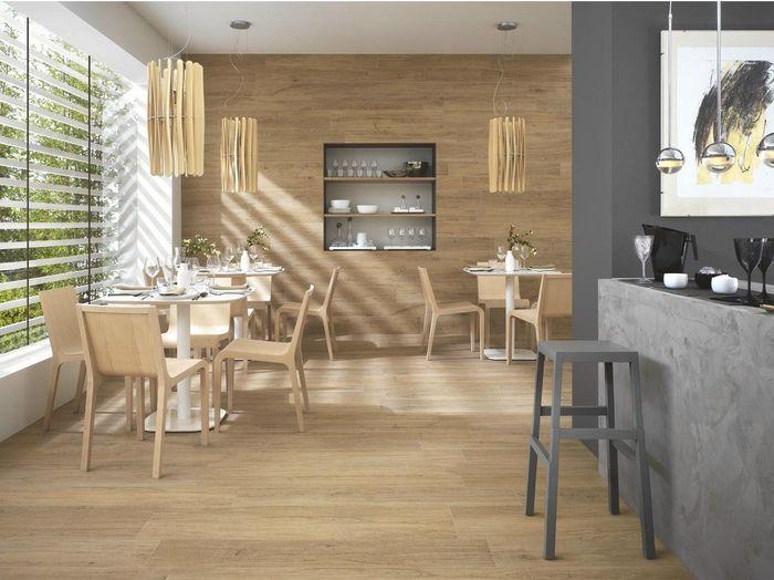 Gres porcellanato effetto legno  Organizzazione