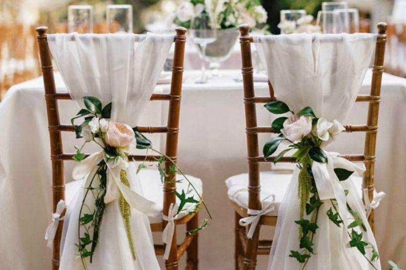 Estilos de sillas para la decoracin del matrimonio