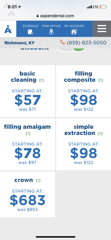 Aspen Dental Price List : aspen, dental, price, Teeth, Cleaning, Aspen, Dental, TeethWalls