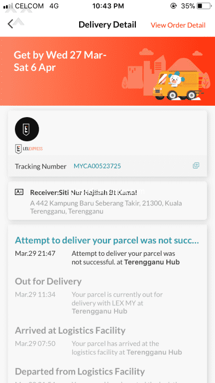 757 Lazada Malaysia Shipping Service Reviews and Complaints Page 13 @ Pissed Consumer
