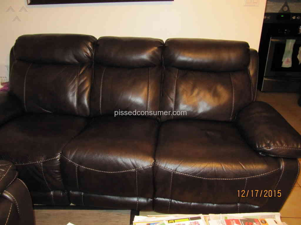 leather sofa repair london ontario sleeper sectionals 238 bad boy furniture reviews and complaints page 11