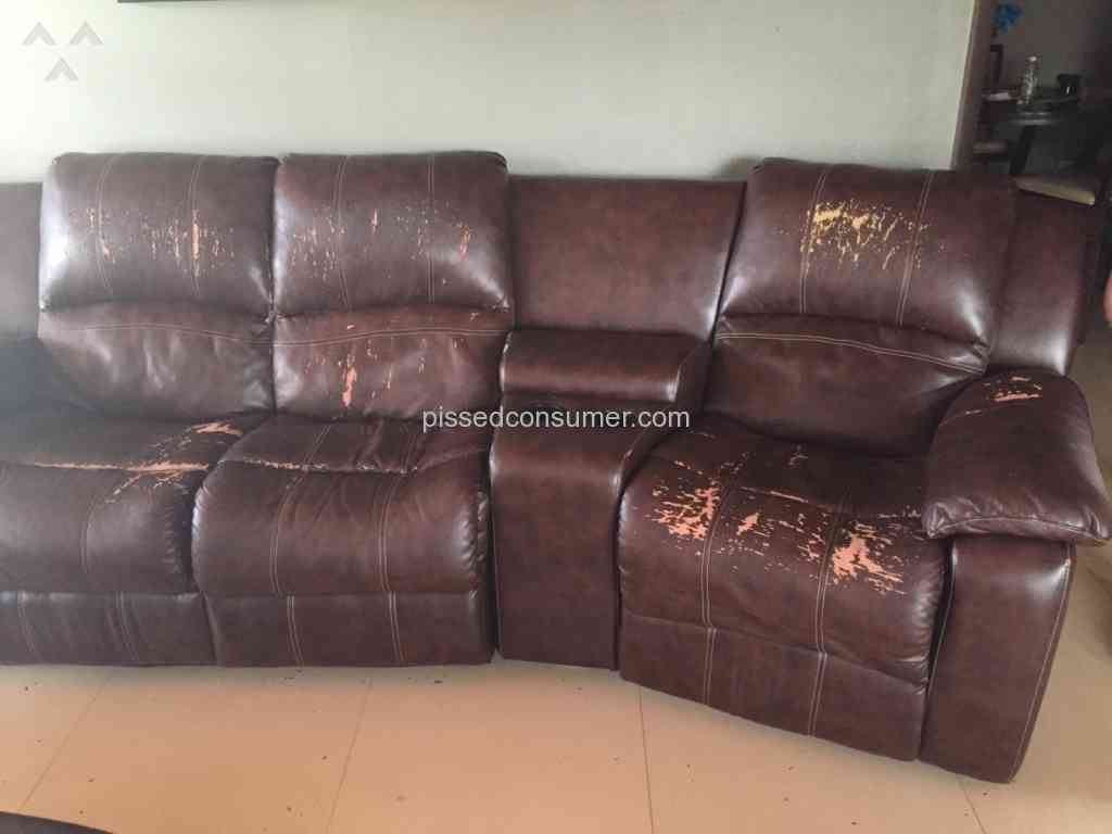 leather sofa atlanta ga pet beds rooms to go sectional review from
