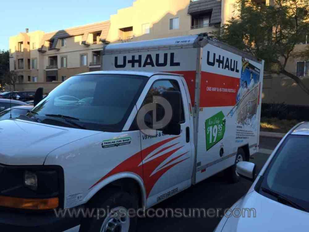 medium resolution of uhaul truck rental review 112555