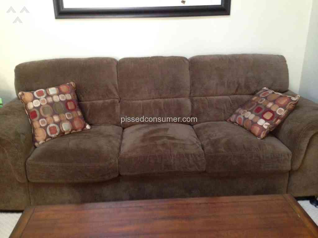 the brick cindy crawford reclining sofa han tufted black italian chesterfield leather and loveseat review home decor