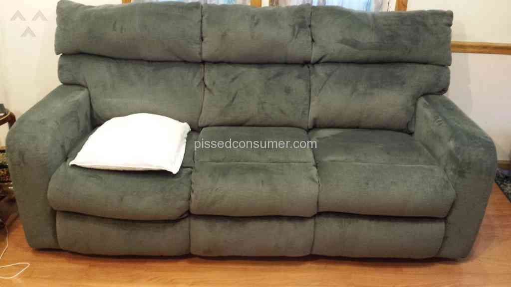 sofa reviews consumer reports teal blue slipcover 23 klaussner complaints and @ pissed