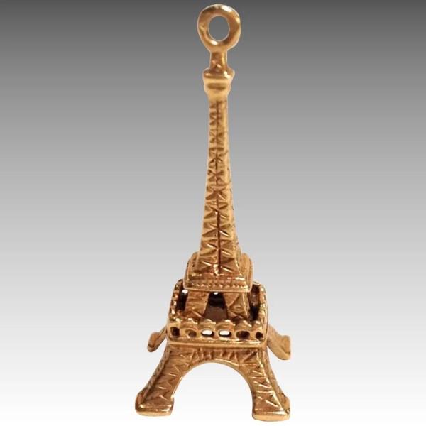 Eiffel Tower Charm 14k Antiques Of River Oaks Ruby Lane
