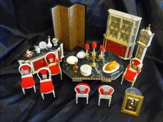 petite princess ideal fantasy furniture doll dining allie antiques