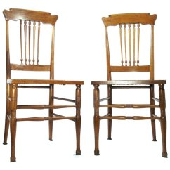 Antique Cane Chairs Casters For On Hardwood Floors Bottom Walnut Scandinavian Style Kitchen Desk Side Utiques Antiques Ruby Lane