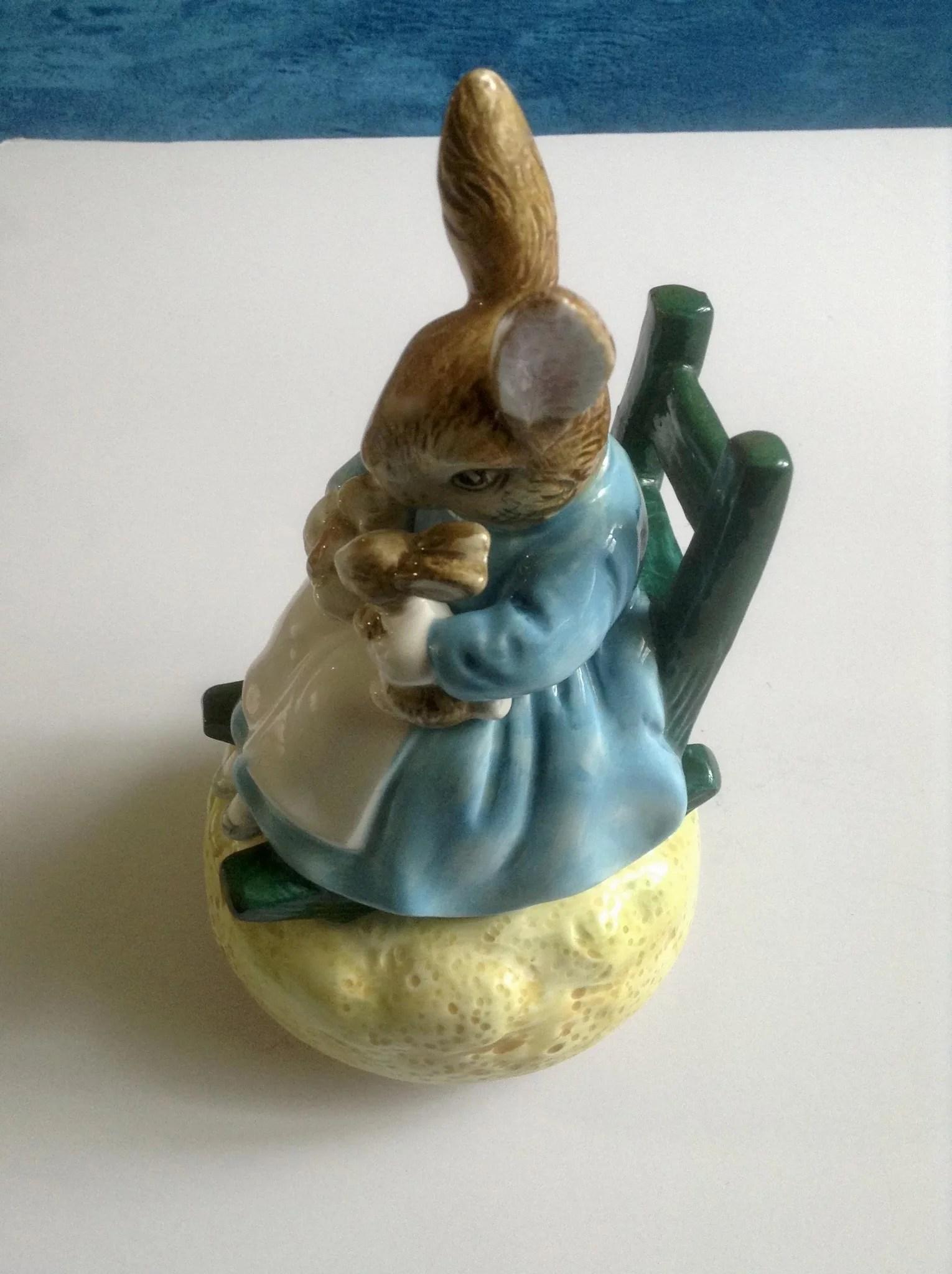 Tale of Peter Rabbit Beatrix Potter Schmid Music Box Mrs